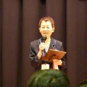 表彰状授与 品川知子先生