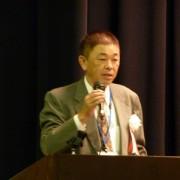 閉会の辞 松谷副会長