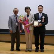 感謝状贈呈 森久美子先生