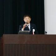 閉会の辞 松谷威夫副会長