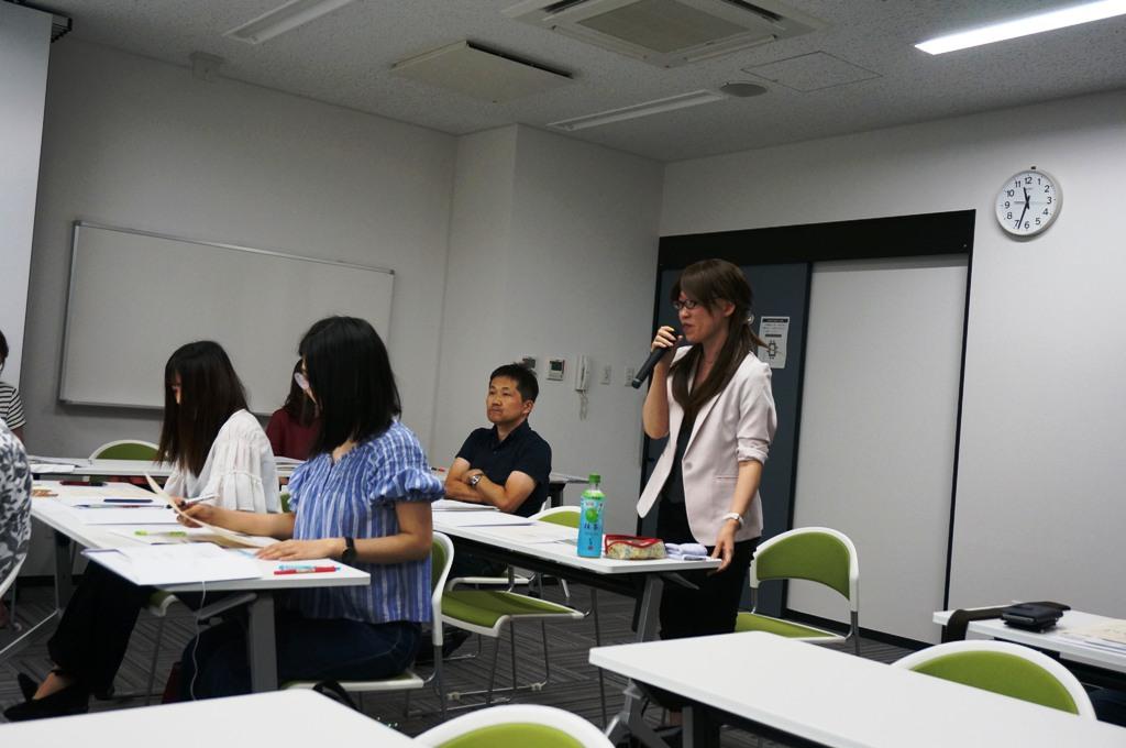学生担当教諭 大阪大谷大学藤坂先生より講評